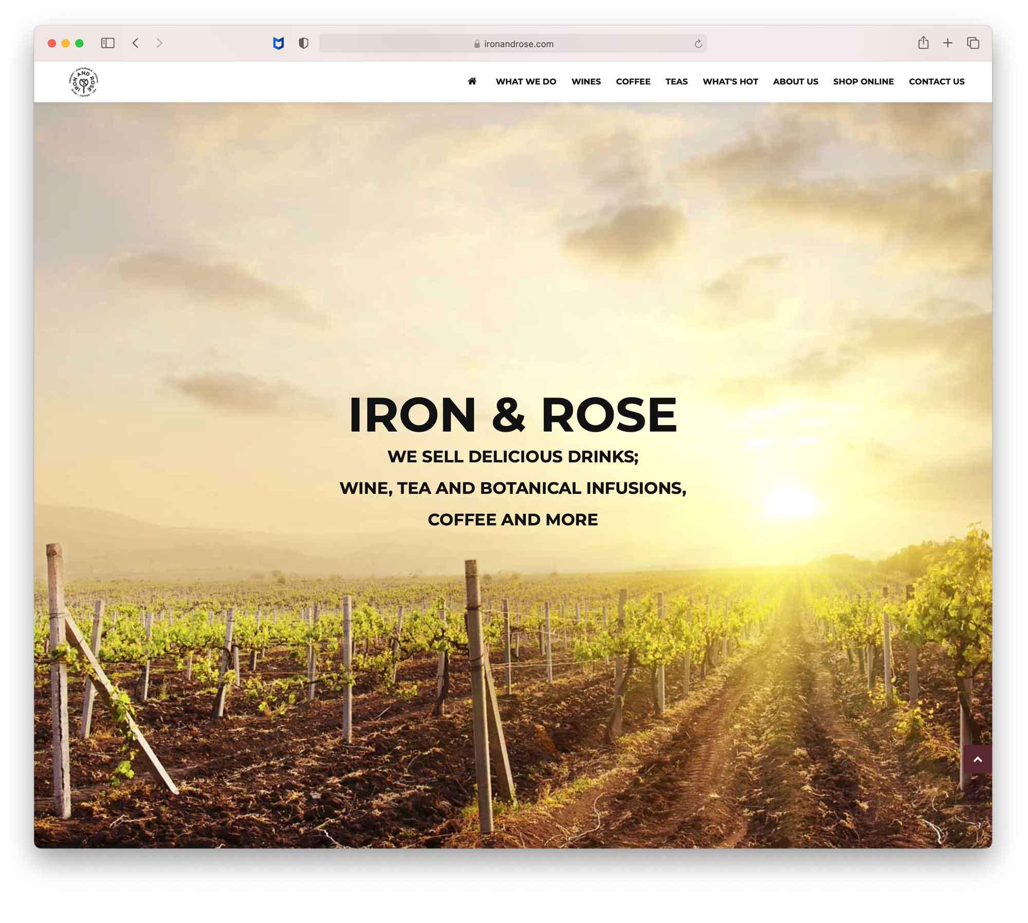 IR-Home-Page
